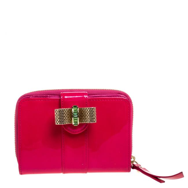 Item - Neon Pink Patent Leather Sweet Charity Wallet