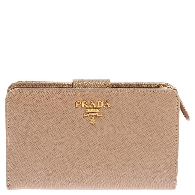 Prada Lux Saffiano Leather French Flap Wallet Prada Lux Saffiano Leather French Flap Wallet Image 1