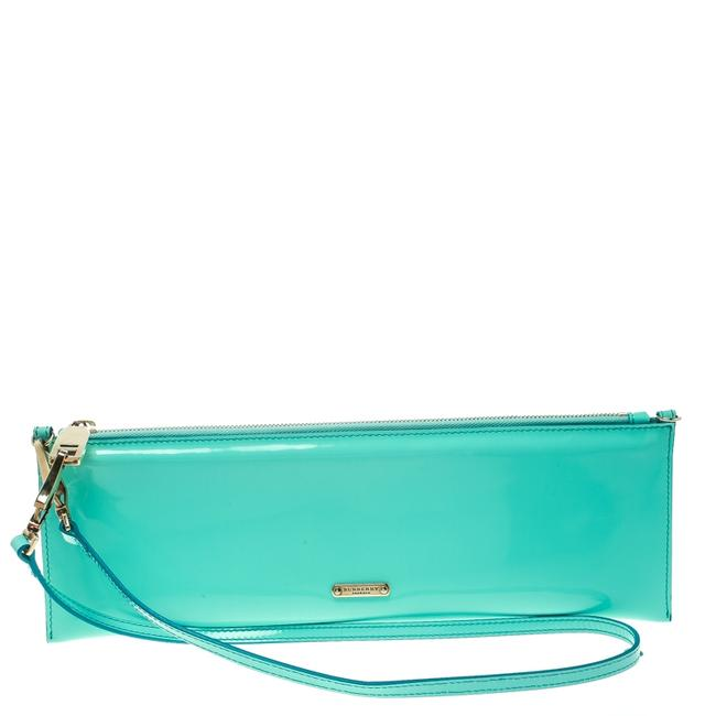 Item - Mint Green Patent Leather Parmoor Clutch