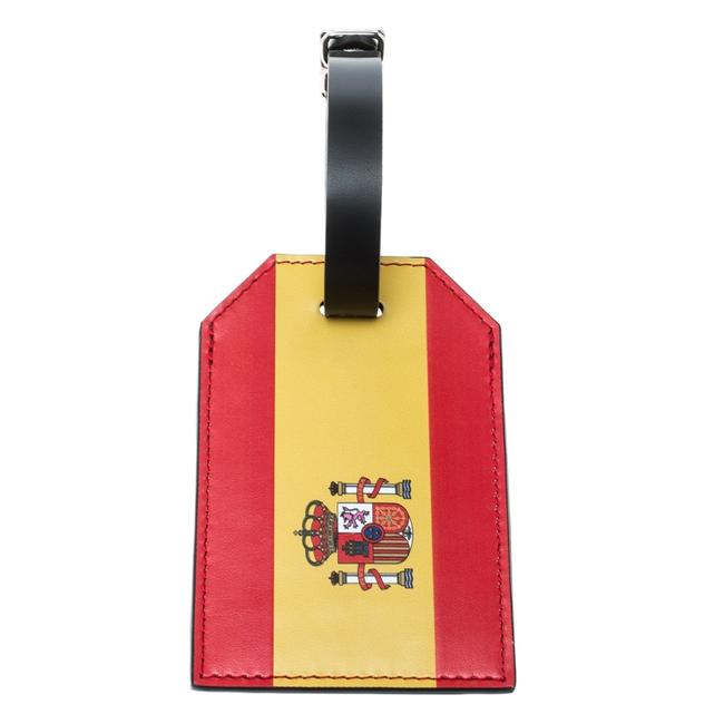Item - Red Epi Leather 2018 Fifa World Cup Spain Flag Luggage Tag Tech Accessory