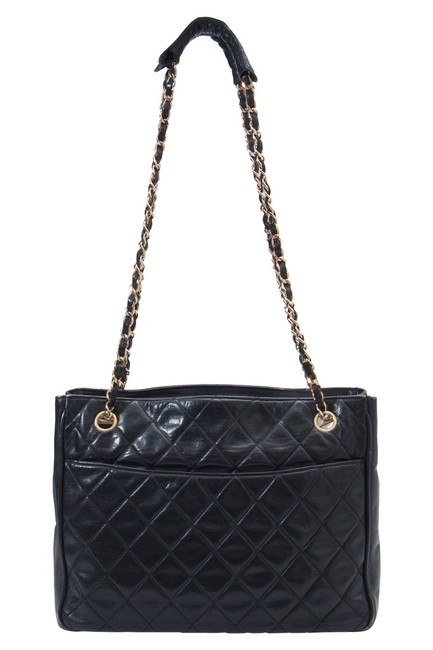 Item - Quilted Leather Vintage Tote