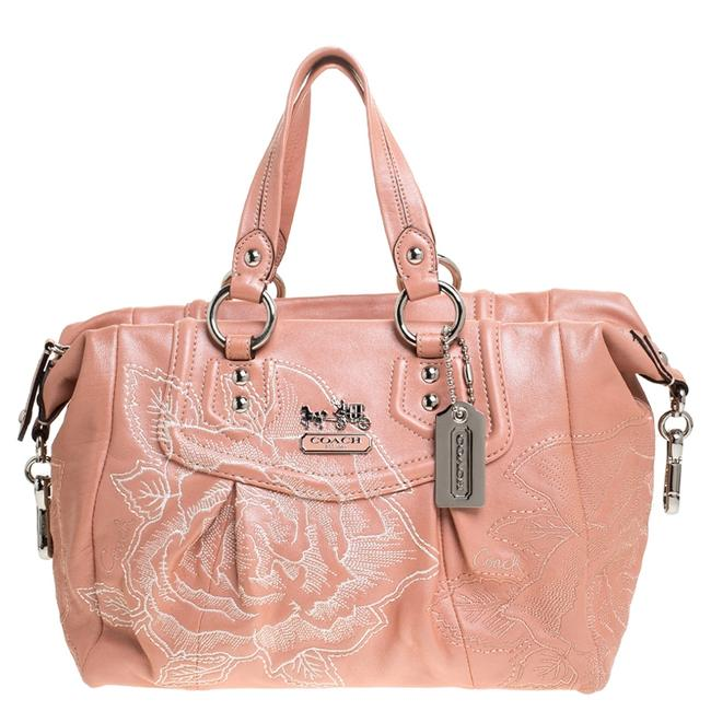 Item - Coral Orange Leather Limited Edition Madison Satchel