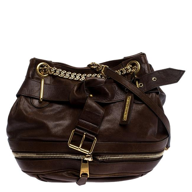 Item - Bucket Brown Leather Faithful Tote