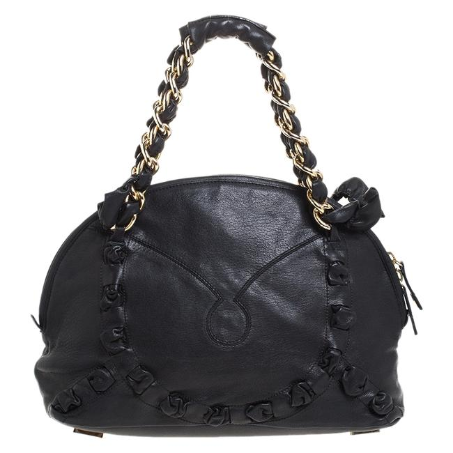 Item - Black Leather Satchel