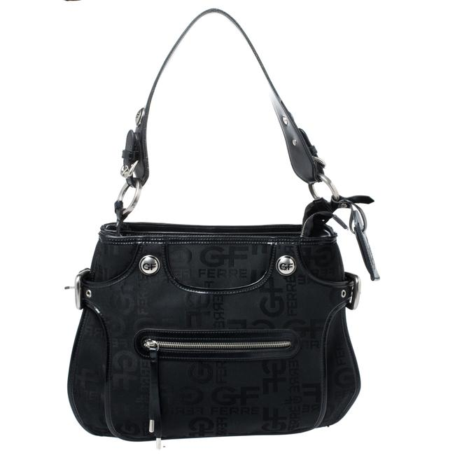 Item - Gf Signature Front Zip Hobo Bag