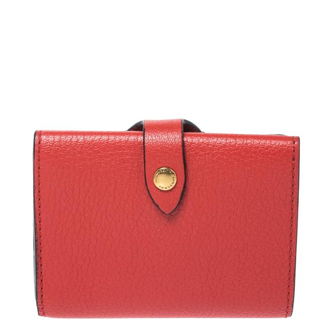 Item - Red Leather Small Harlow Wallet