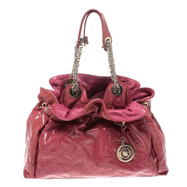 Item - Magenta Cannage Patent Leather Le Trente Hobo Bag
