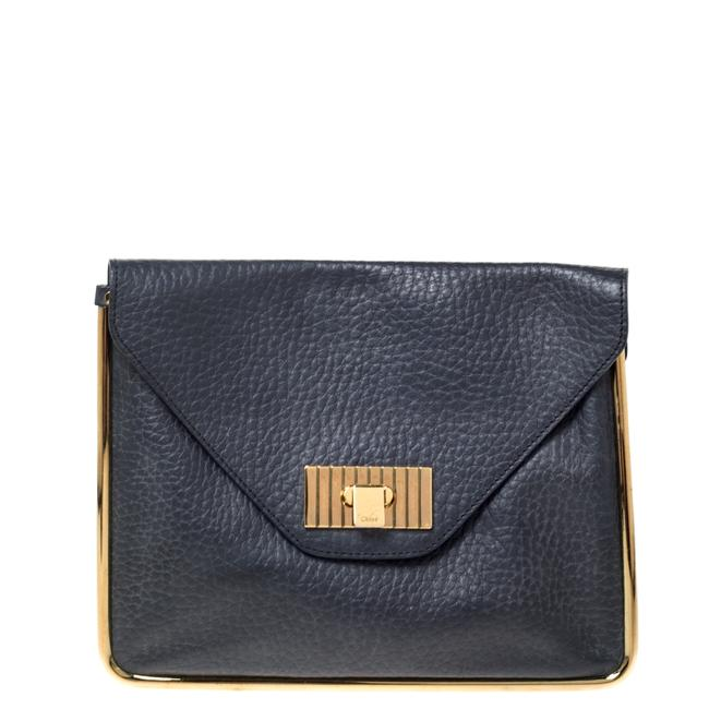 Item - Sally Grained Leather Clutch