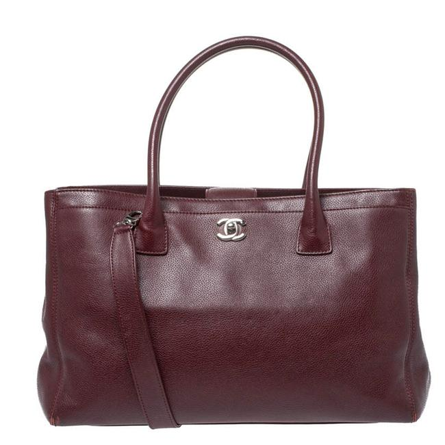 Item - Cerf Burgundy Leather Large Executive Tote