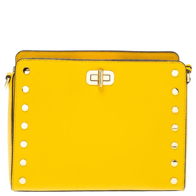 Item - Sylvie Crossbody Yellow Leather Shoulder Bag