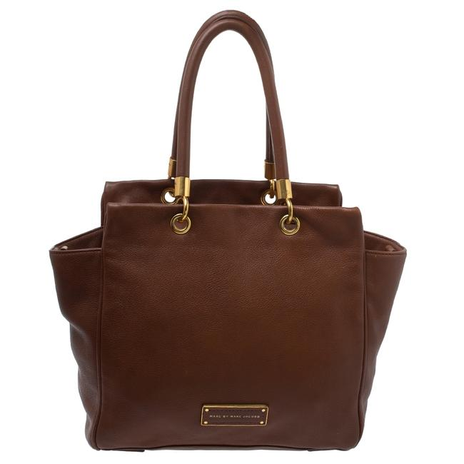 Item - Brown Soft Leather Bentley Tote