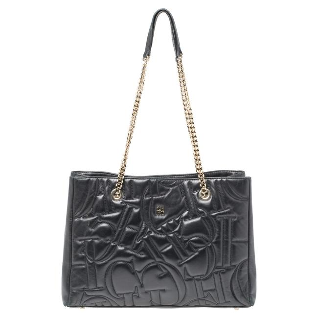 Item - Quilted Leather Shopper Tote