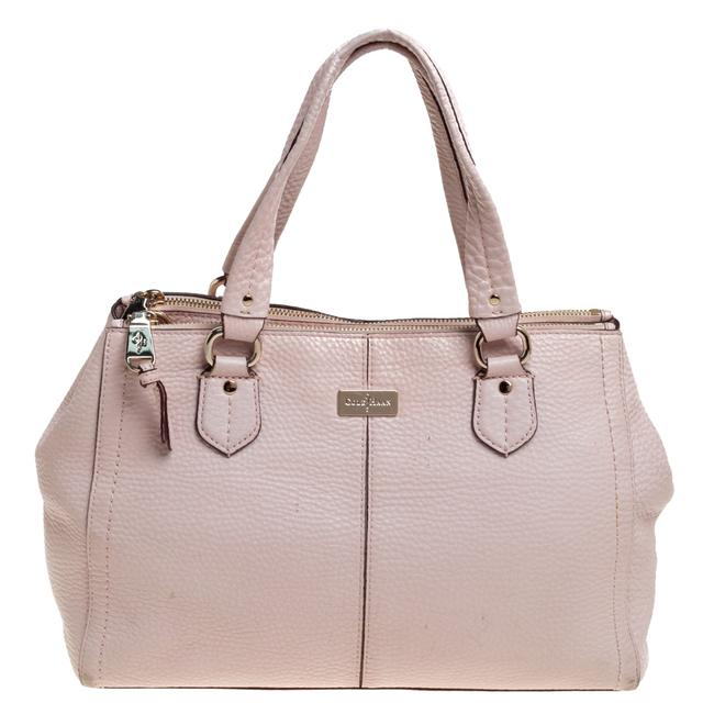 Item - Powder Pink Leather Double Zip Tote