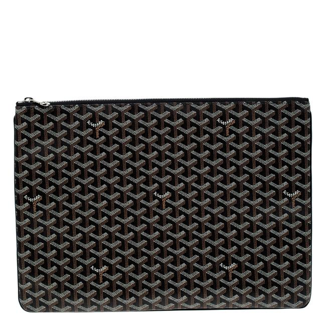 Item - ine Coated Canvas Senat Gm Clutch