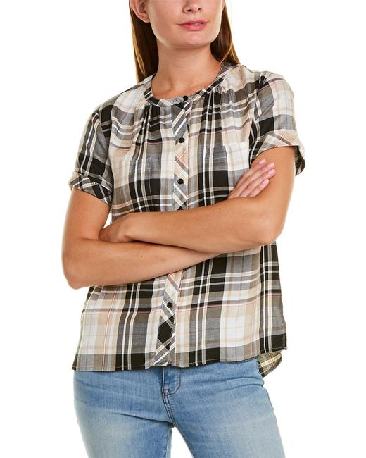 Vince Camuto Roll Cuff Shirt 9020002 Blouse 14116191660003 Image 1
