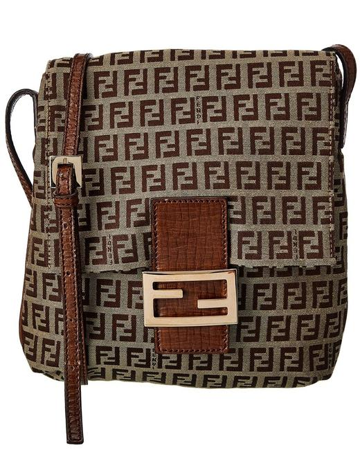 Item - Pre-owned Brown Zucca-print Canvas Qbb051cr0b021 Messenger Bag