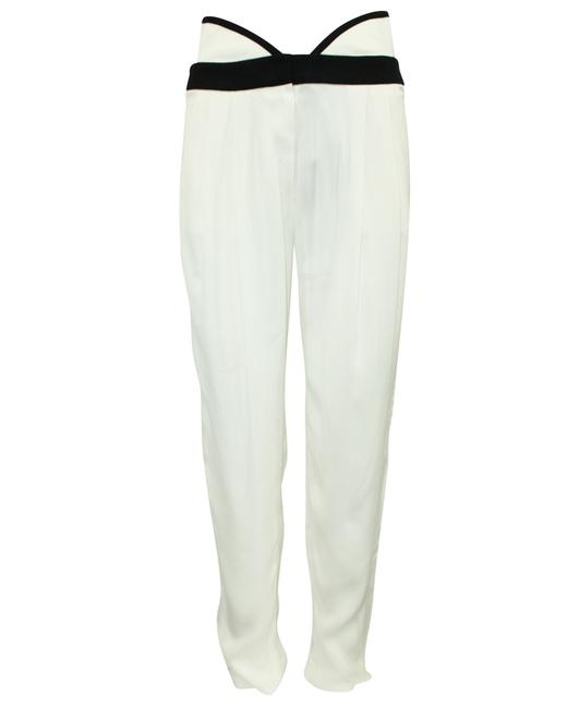 Item - Emporio High Waisted Ivory -pre Owned Condition Pants