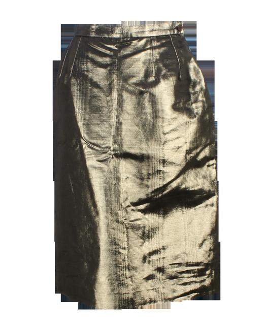 Item - Gold -pre Owned Condition Excellent Fr40 Skirt