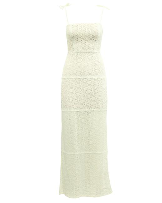 Item - Elegant Maxi Crochet -pre Owned Condition Very Good Cocktail Dress