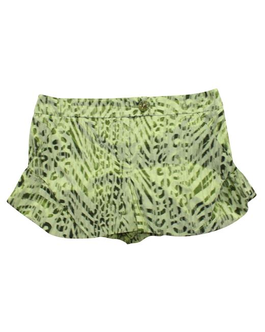 Item - Emporio Green Print -pre Owned Condition Very Good It42 Shorts