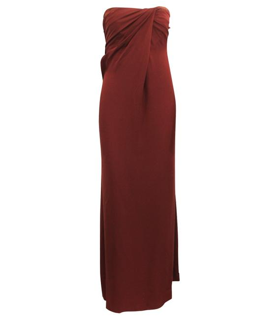 Item - Elegant Dark Red Tube -pre Owned Condition Excellent It38 Cocktail Dress