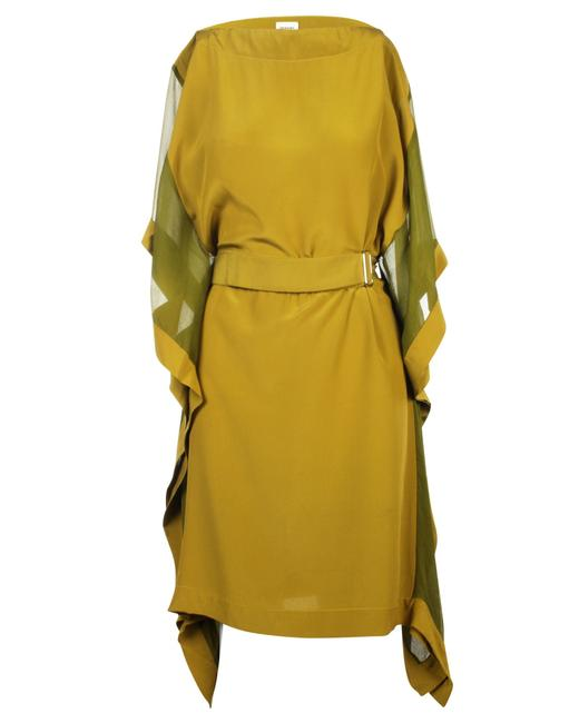 Item - Silk with Belt -pre Owned Condition Very Good Fr38 Cocktail Dress
