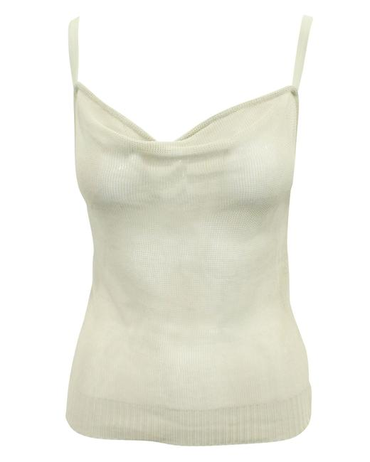 Item - Emporio Beige Mesh Top -pre Owned Condition Excellent It42 Blouse