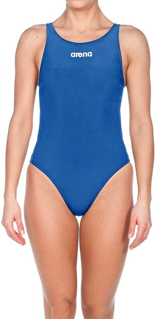 Item - Women's Swimwear Blue Size 28 St Classic Racing Logo One-piece Bathing Suit