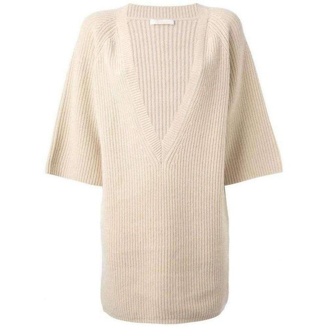 Item - Beige Cashmere Knit Sweater/Pullover