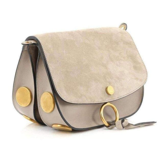 Item - Mini Kurtis Leather and Suede Fr Cross Body Bag