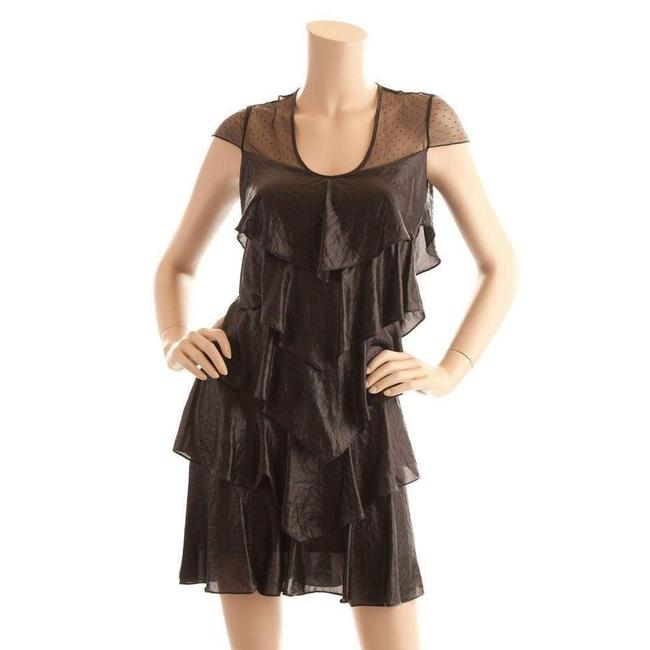 Item - Woven Tiered Lace Short Casual Dress
