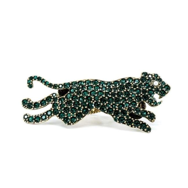 Item - Two Finger Green Ring Size It14/ Us 6¼ 14 Jewelry