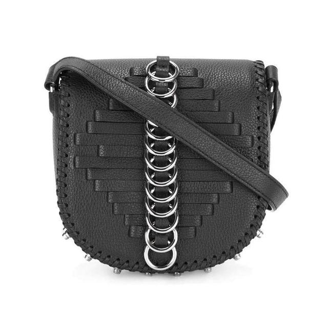 Item - Black Leather Lia Sling Us Cross Body Bag