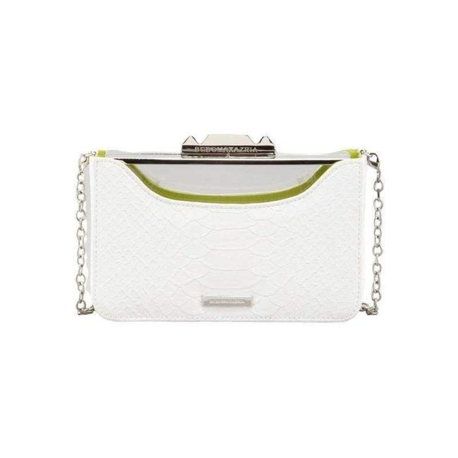 Item - Crawford Lucite White with Shell Us Clutch