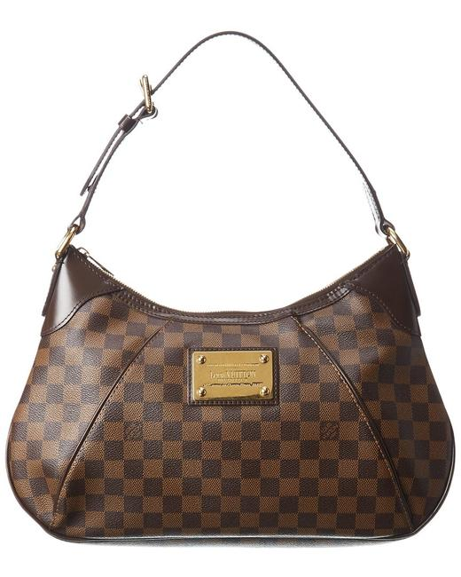 Item - Thames Pre-owned Damier Ebene Canvas Gm 1895693 Tote