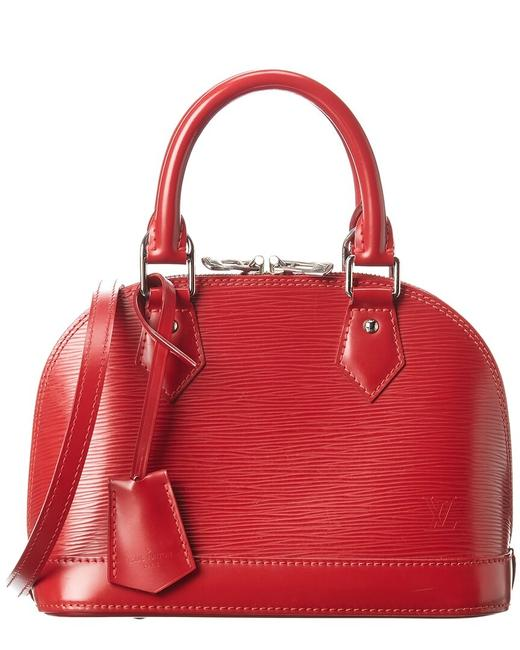 Item - Alma Pre-owned Red Epi Leather Bb 1880982 Tote