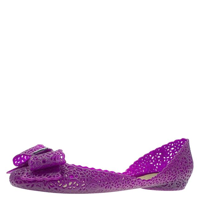 Item - Jelly Purple Nilly Bow Ballet Size 40.5 Flats
