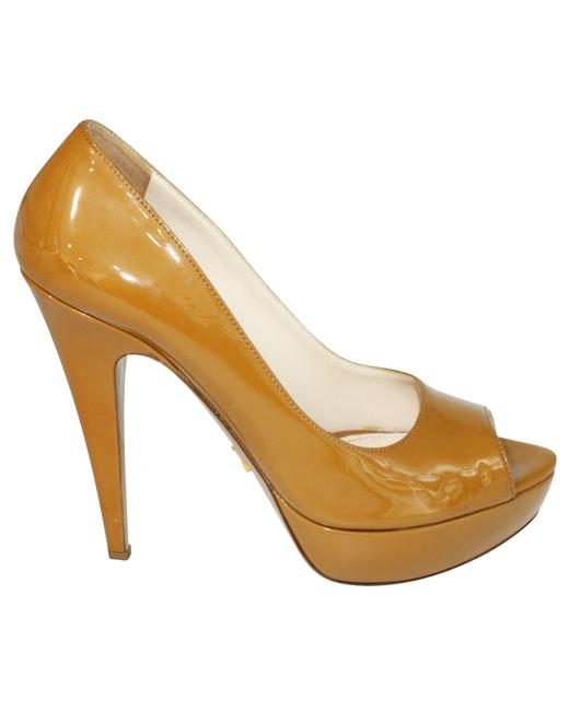Item - Yellow Vernice Chic Peep Toe Pumps -pre Owned Condition Formal