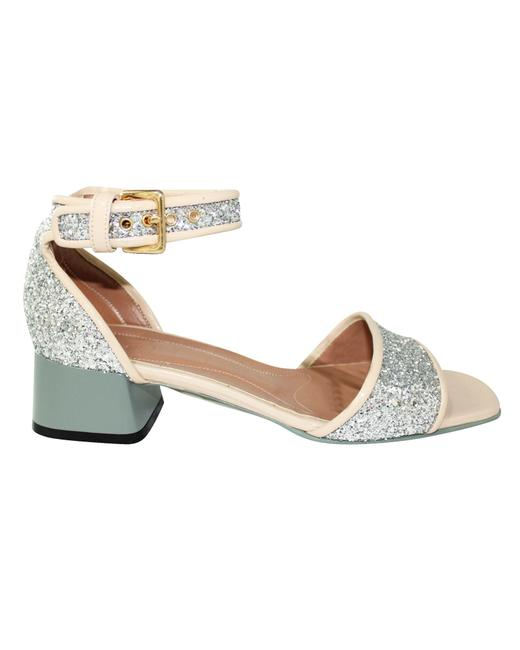 Item - Silver Glittery -pre Owned Condition Excellent 38 Sandals