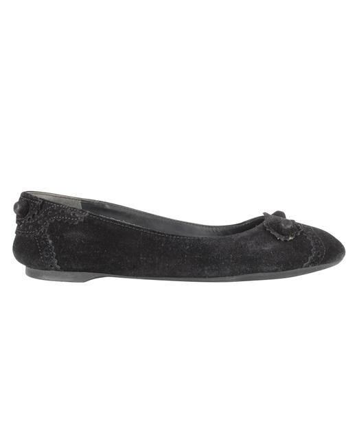 Item - Black Suede Arena -pre Owned Condition Excellent 35 Flats