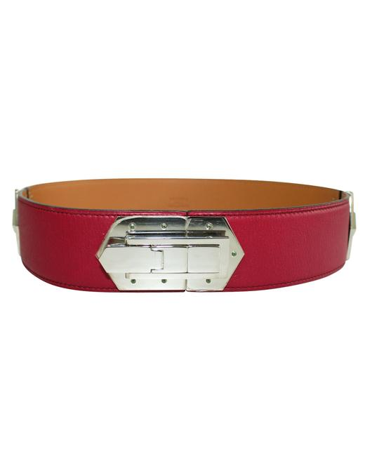 Item - Pink Hinge Swift Leather -pre Owned Condition Very Good Belt