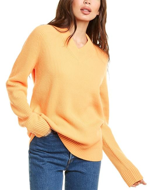 Item - Oversized Wool Cashmere-blend K07hw706 Sweater/Pullover
