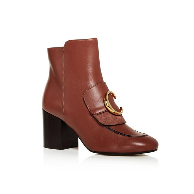Item - Women's C Leather Ankle Rose Brown Boots/Booties