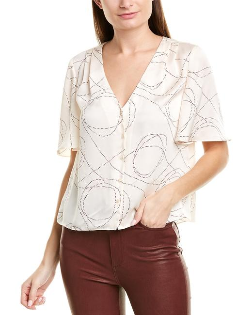 Joie Cadell B Top 19-3-005884-tp03067b Blouse Joie Cadell B Top 19-3-005884-tp03067b Blouse Image 1