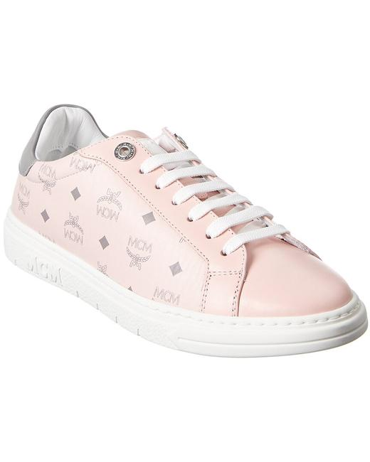 Item - Leather Sneaker Mesaamm17 Qh001 Athletic