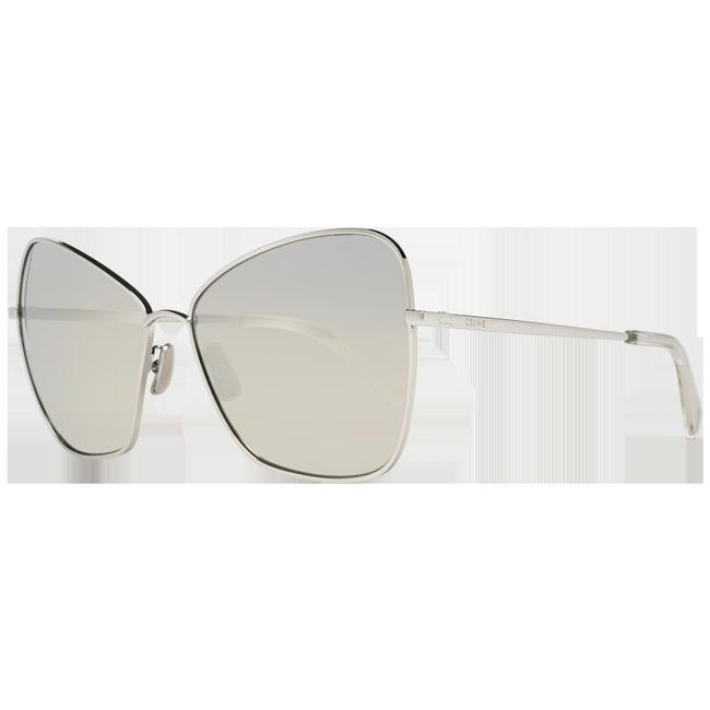 Item - Cl40080u 16c 64 Women Silver Sunglasses
