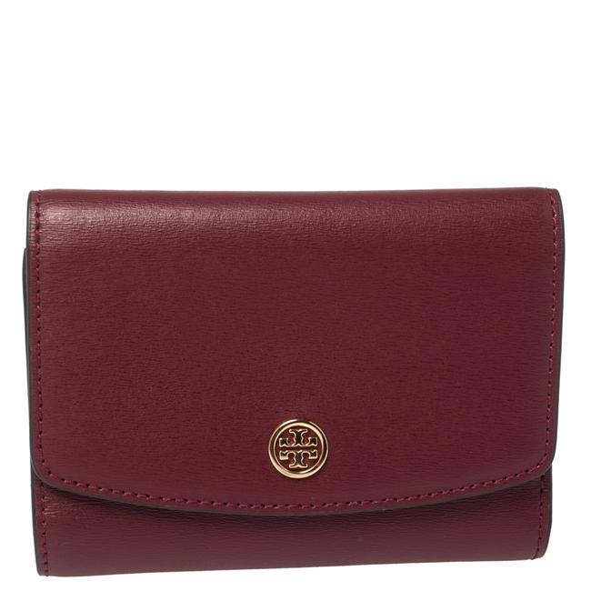 Item - Robinson Marron Textured Leather Compact Wallet