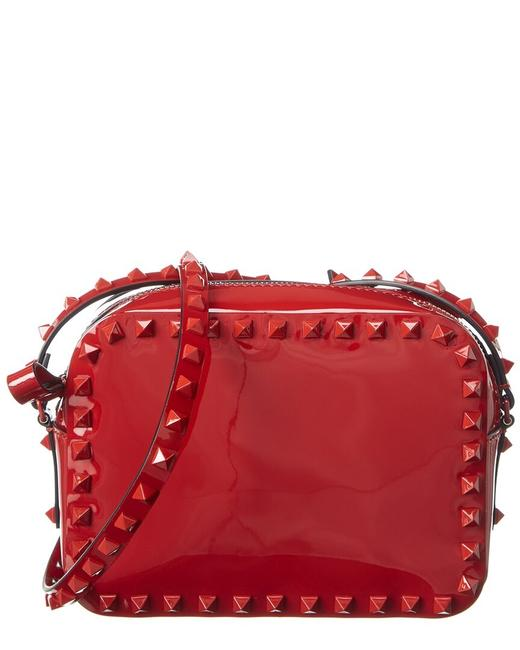 Item - Camera Rockstud Patent B0809 Vnz 0ro Cross Body Bag