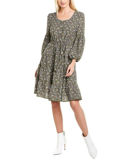 Item - 3/4-sleeve Tiered Mini A905y64a Casual Maxi Dress