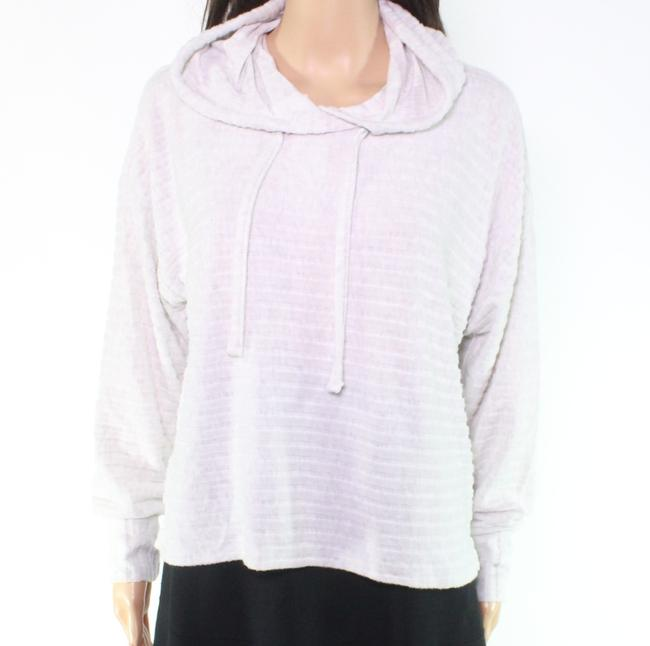 Item - L Women's White Size Large Hooded Ribbed Sweater/Pullover